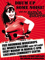 Samba Sisters Drumming Workshops - Click to view PDF