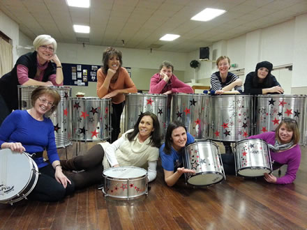 New Drum Decs for 2013 - photo by Alison Boyes