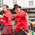 Samba Sisters in Dumfries 2011