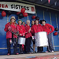 Samba Sisters play at the Kirkconnell and Kelloholm Gala 2011